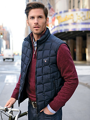 GANT - Quilted gilet