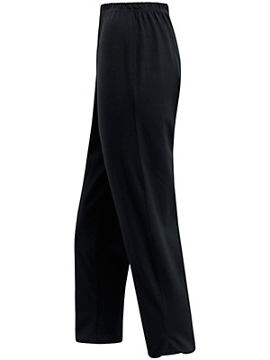 Green Cotton - 7/8-length slip-on trousers in 100% cotton