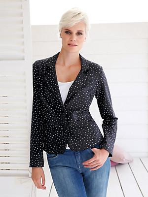 Green Cotton - Jersey blazer in 100% cotton