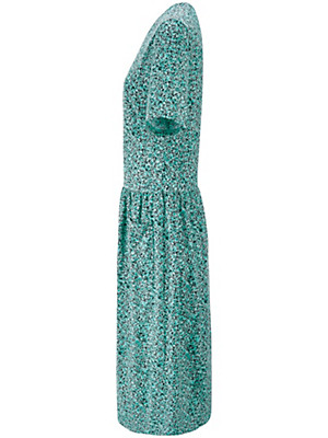 Green Cotton - Jersey dress in 100% cotton