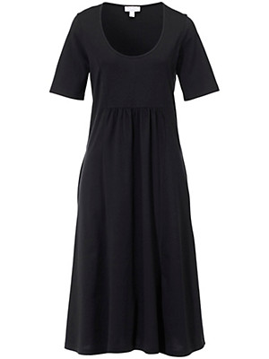 Green Cotton - Long dress with short sleeves