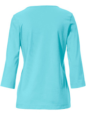 Green Cotton - Round neck top with 3/4 sleeves – pack of 2