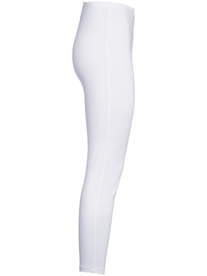 Green Cotton - Shape-retaining leggings