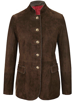 HABSBURG - Leather blazer