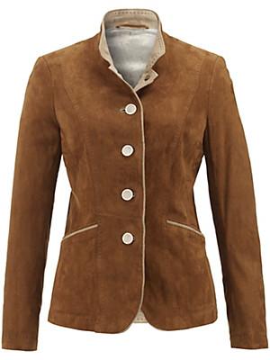 HABSBURG - Leather blazer