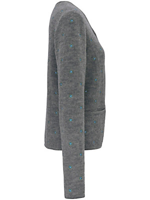 Hammerschmid - Milled wool cardigan