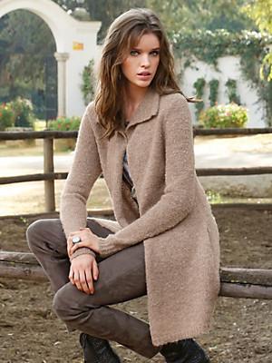 Inkadoro - Knitted coat