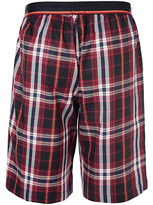 Jockey - Woven pyjama trousers with a checked design