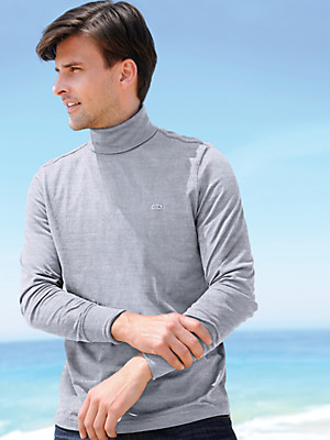 Lacoste - Versatile roll neck top with long sleeves
