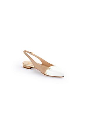 Ledoni - Fine lamb nappa slingback ballerinas