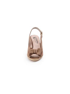 Ledoni - Kidskin suede sandals