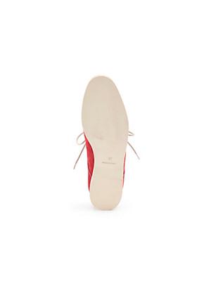 Ledoni - Sleek, timeless calfskin suede lace-ups