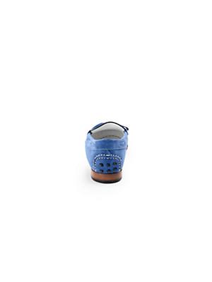 Ledoni - Soft calfskin suede moccasins
