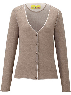 LIEBLINGSSTÜCK - Cardigan in 100% new milled wool
