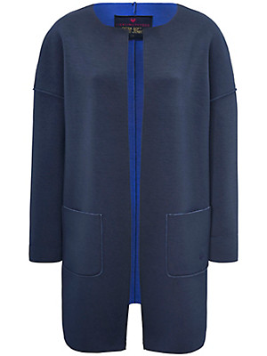 LIEBLINGSSTÜCK - Jersey coat in double-faced material