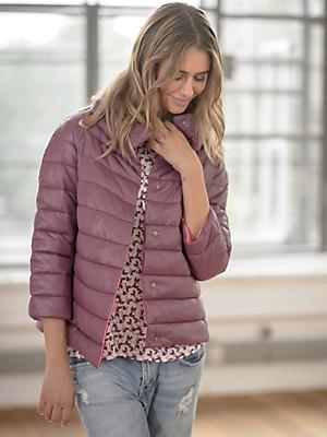 LIEBLINGSSTÜCK - Quilted jacket in an A line cut
