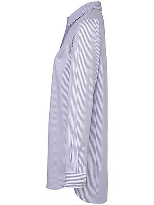 LIEBLINGSSTÜCK - Striped blouse in an extra-long cut