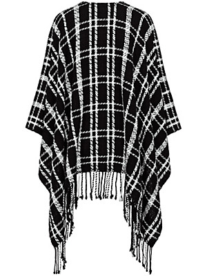 Looxent - Poncho in 100% new milled wool