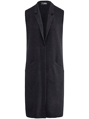 Looxent - Waistcoat in 100% new milled wool