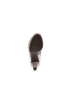 Paul Green - Ankle-high kidskin suede sandals