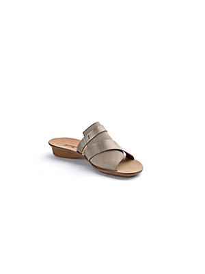 Paul Green - Soft kidskin nubuck leather mules