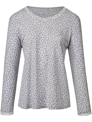 Peter Hahn - 100% cotton top with a V neckline