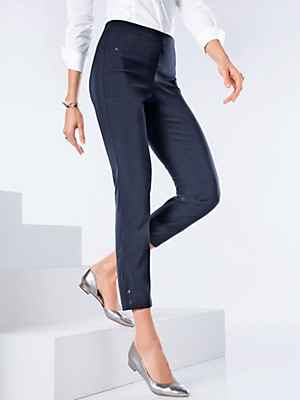 Peter Hahn - 7/8-length pull-on trousers