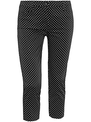 Peter Hahn - 7/8-length slim-fit trousers