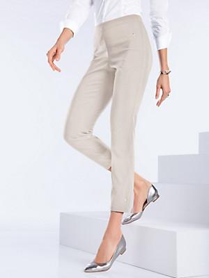 Peter Hahn - 7/8-length slip-on trousers