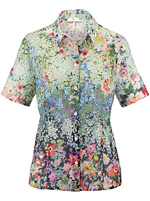 Peter Hahn - Blouse with short sleeves