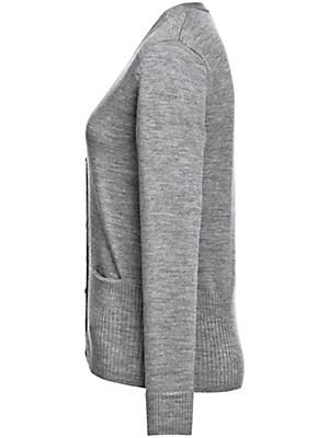 Peter Hahn - Cardigan in 100% new milled wool