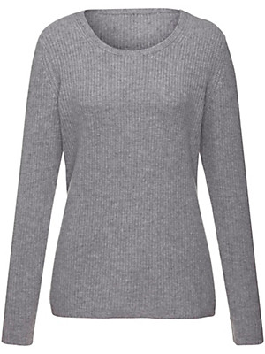 Peter Hahn Cashmere Gold - Round neck jumper in 100% cashmere