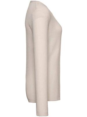 Peter Hahn Cashmere Gold - Round neck jumper in 100% cashmere