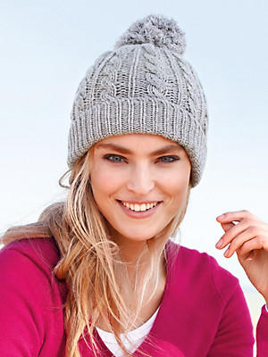Peter Hahn Cashmere - Hat in 100% cashmere