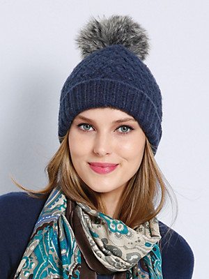 Peter Hahn Cashmere - Knitted cap