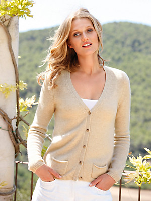 Peter Hahn Cashmere Nature - Cardigan