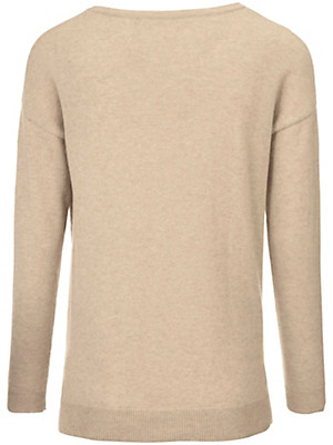 Peter Hahn Cashmere Nature - Round neck jumper