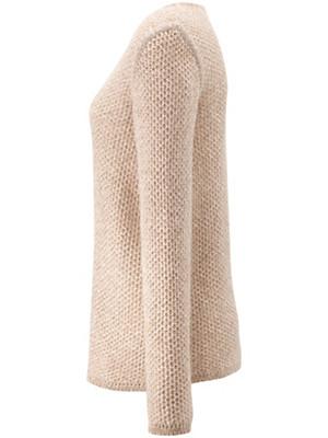 Peter Hahn Cashmere Nature - V neck jumper in 100% cashmere