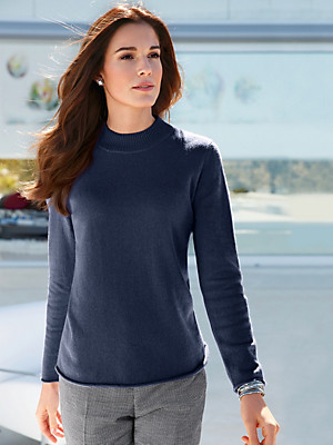 Peter Hahn Cashmere - Polo jumper in 100% cashmere