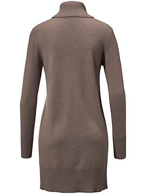 Peter Hahn Cashmere - Polo neck jumper in 100% cashmere