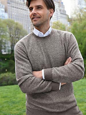 Peter Hahn Cashmere - Pure cashmere round neck pullover