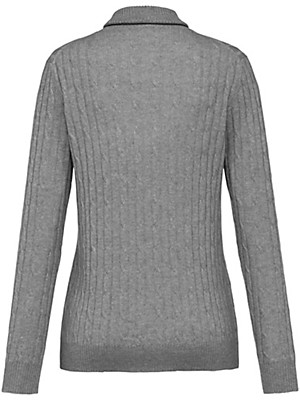 Peter Hahn Cashmere - Roll neck jumper in 100% cashmere