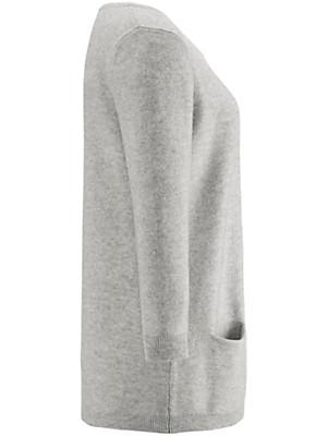 Peter Hahn Cashmere - Round neck jumper 100% cashmere