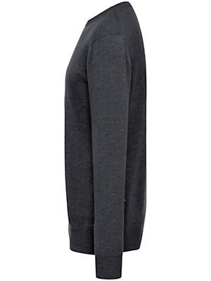 Peter Hahn Cashmere - Round neck jumper in 100% cashmere