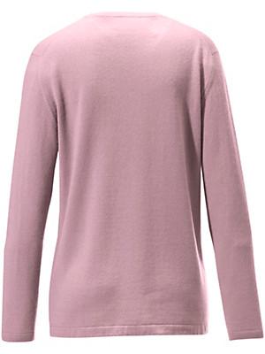 Peter Hahn Cashmere - Round neck jumper in pure cashmere