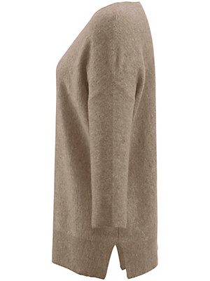 Peter Hahn Cashmere - Round neck pullover in 100% cashmere