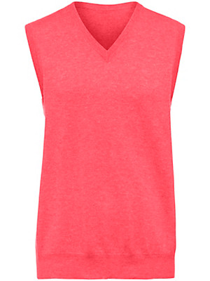 Peter Hahn Cashmere - Sleeveless jumper 100% cashmere