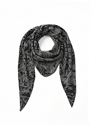 Peter Hahn Cashmere - Triangular knitted scarf