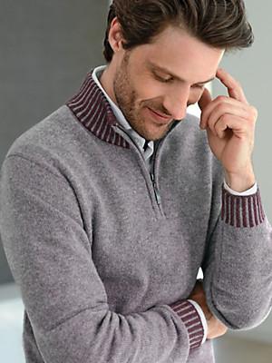 Peter Hahn Cashmere - Turtleneck pullover in 100% cashmere