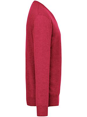 Peter Hahn Cashmere - V-neck jumper in 100% cashmere - Design VALENTIN